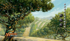 Conflux Exotic Orchard Playmat