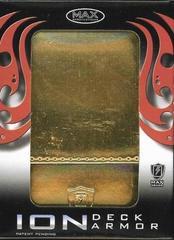 Max Ion Metallic Gold Deck Box