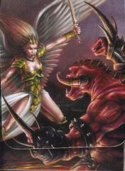 Max Protection Angel Fighting Demon Deck Box