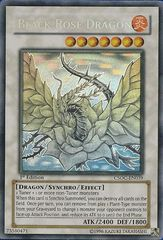 Black Rose Dragon - Ghost Rare - CSOC-EN039 - Ghost Rare - 1st Edition