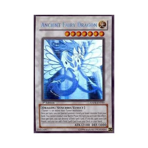 Ancient Fairy Dragon - ANPR-EN040 - Ghost Rare - 1st Edition