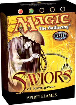 Saviors Spirit Flames Precon Theme Deck