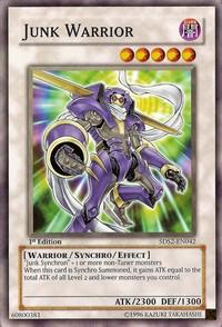 Junk Warrior - 5DS2-EN042 - Common - 1st Edition