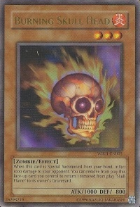 Burning Skull Head - WB01-EN003 - Ultra Rare - Promo Edition