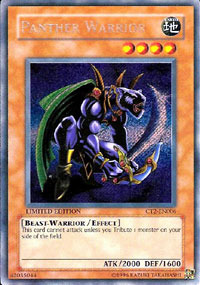 Panther Warrior - CT2-EN006 - Secret Rare - Limited Edition