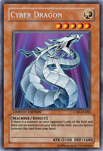 Cyber Dragon - CT03-EN002 - Secret Rare - Limited Edition