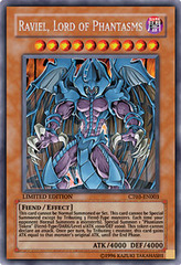 Raviel, Lord of Phantasms - CT03-EN003 - Secret Rare - Limited Edition