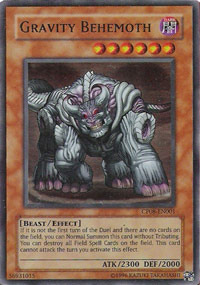 Gravity Behemoth - CP08-EN001 - Ultra Rare - Promo Edition