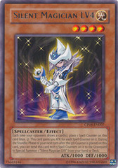 Silent Magician LV4 - CP08-EN007 - Rare - Promo Edition on Channel Fireball