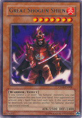 Great Shogun Shien - CP08-EN008 - Rare - Promo Edition on Channel Fireball