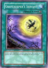 Gravekeeper's Servant - DB1-EN017 - Common - Unlimited Edition