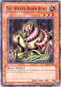 The Wicked Worm Beast - DB2-EN090 - Common - Unlimited Edition