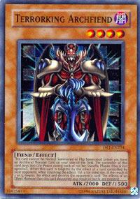 Terrorking Archfiend - DR1-EN234 - Super Rare - Unlimited Edition