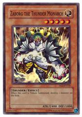 Zaborg the Thunder Monarch - DR2-EN135 - Super Rare - Unlimited Edition