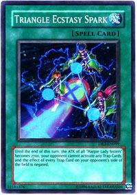 Triangle Ecstasy Spark - DR3-EN099 - Super Rare - Unlimited Edition