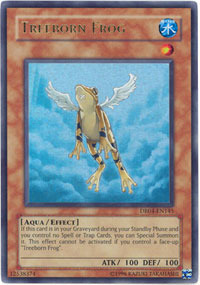 Treeborn Frog - DR04-EN145 - Ultra Rare - Unlimited Edition