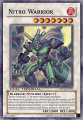 Nitro Warrior - DTP1-EN029 - Super Parallel Rare - Duel Terminal