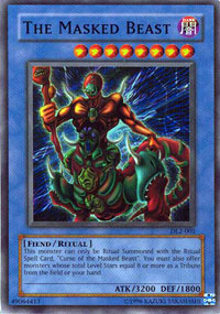 The Masked Beast - DL2-001 - Super Rare - Unlimited Edition