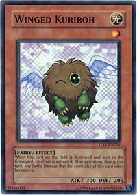 Winged Kuriboh - GX1-EN002 - Super Rare - Promo Edition