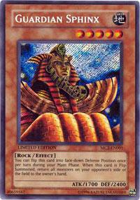 Guardian Sphinx - MC2-EN001 - Secret Rare - Limited Edition