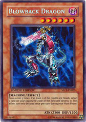Blowback Dragon - MC2-EN005 - Secret Rare - Limited Edition