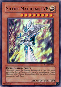 Silent Magician LV8 - NTR-EN002 - Super Rare - Limited Edition