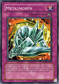 Unlimited Edition Moderately Playe Super Rare PP01-EN014 YuGiOh Metalmorph