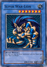 Super War-Lion - PP02-EN001 - Super Rare - Unlimited Edition