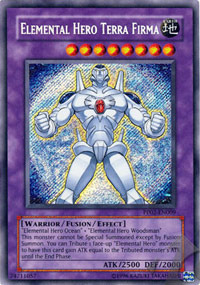 Elemental Hero Terra Firma - PP02-EN009 - Secret Rare - Unlimited Edition