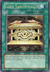 Gold Sarcophagus - SJCS-EN005 - Ultra Rare - Limited Edition