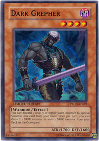 Dark Grepher - PTDN-ENSP1 - Super Rare - Limited Edition