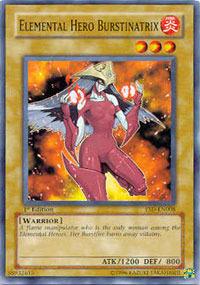 Elemental Hero Burstinatrix - YSD-EN008 - Common - 1st Edition