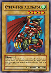 Cyber-Tech Alligator - YSDJ-EN001 - Common - 1st Edition on Channel Fireball