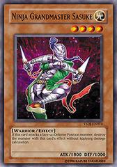 Ninja Grandmaster Sasuke - YSDJ-EN014 - Common - 1st Edition