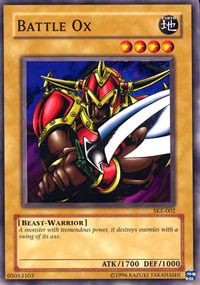 Battle Ox - SKE-002 - Common - 1st Edition