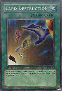 Card Destruction - SDY-042 - Super Rare - 1st Edition