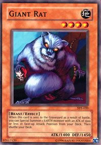 Giant Rat - SYE-020 - Common - 1st Edition