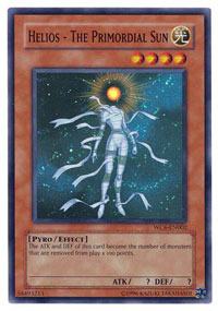 Helios - The Primordial Sun - WC6-EN002 - Super Rare - Promo Edition