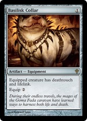 Basilisk Collar on Channel Fireball