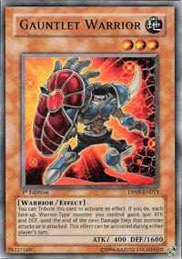 Gauntlet Warrior - DP09-EN013 - Ultra Rare - 1st Edition