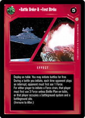 Battle Order & First Strike - Rare