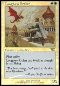 Longbow Archer - Foil FNM 2000