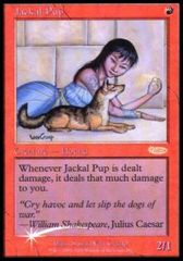 Jackal Pup - Foil FNM 2001