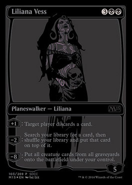 Liliana Vess SDCC 2014 EXCLUSIVE - Foil