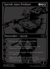 Garruk, Apex Predator - SDCC 2014 Exclusive Promo