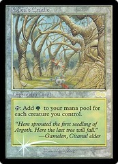 Gaea's Cradle - Foil DCI Judge Promo on Channel Fireball