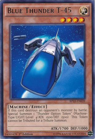 Blue Thunder T-45 - BP03-EN039 - Rare - 1st Edition