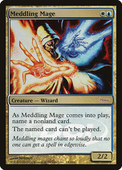Meddling Mage - Foil DCI Judge Promo