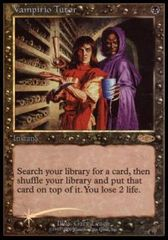 Vampiric Tutor - Foil DCI Judge Promo (2000 - Old Frame)