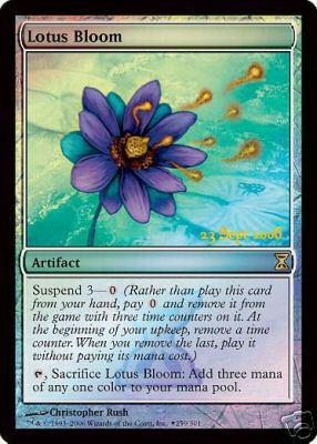 Lotus Bloom - Foil - Prerelease Promo